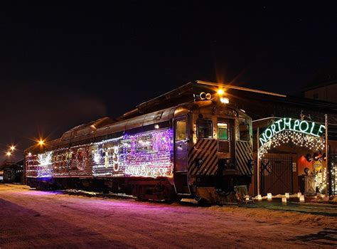 The Christmas Express Is Minnesota's Polar Express Train Ride