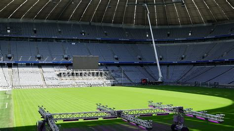 Major refit for the Allianz Arena : Official FC Bayern