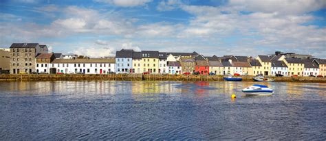 Le Claddagh Galway image stock