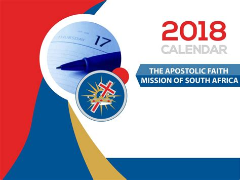 AFM 2018 Calendar by The Apostolic Faith Mission of SA - Issuu