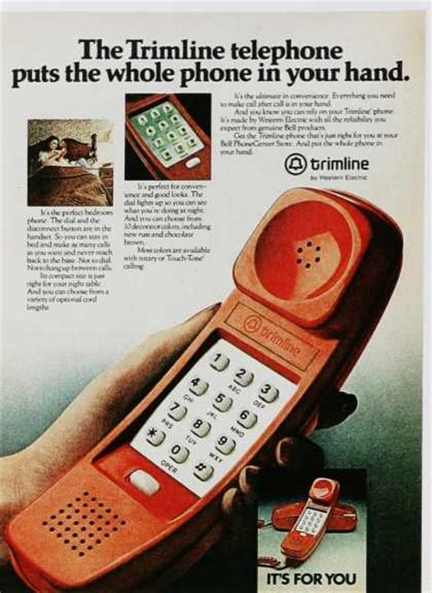 Vintage Communications Ads of the 1980s