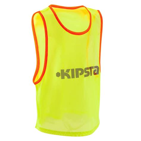 Chasuble sports collectifs enfant jaune | Kipsta by Decathlon