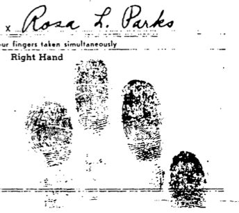 Arrest Record For Rosa Parks | The Martin Luther King, Jr