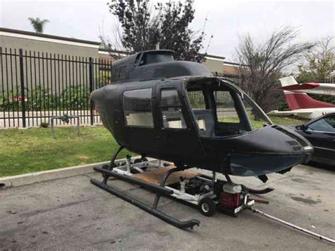 BELL : Helicopter 206 Jet Ranger Airframe fuselage as a