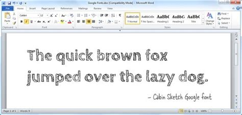Download and Install Google Fonts on your Computer