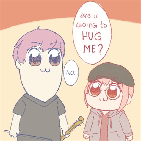 Lily and Albert as Pipimi and Popuko