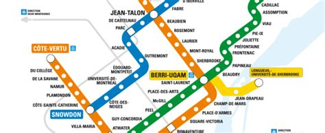 Ride Montreal's Metro Orange & Green Line From The Comfort