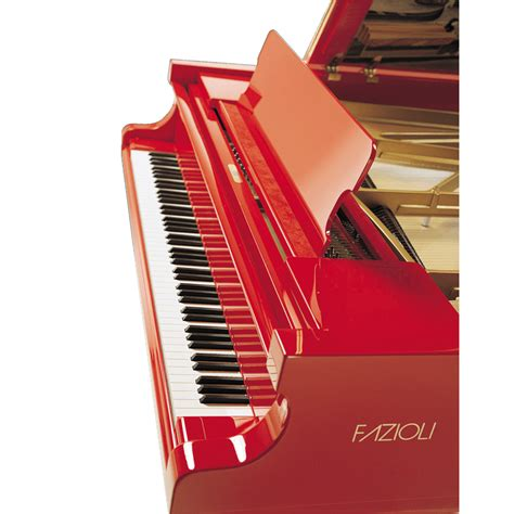 Fazioli Marco Polo Piano - Red Piano for Sale - Prices
