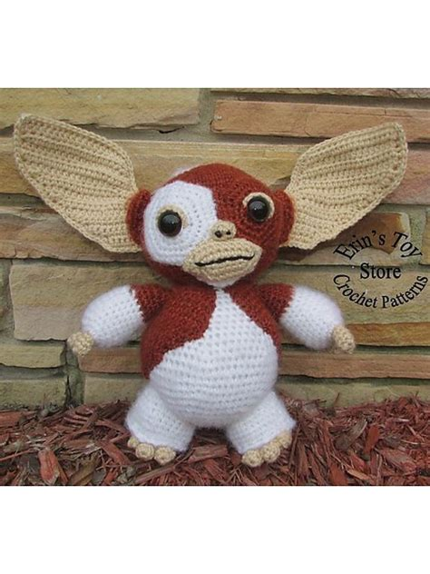 Free Pattern – Gizmo From Gremlins – Crochet