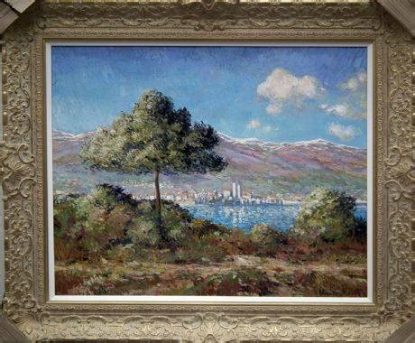View Of Antibes In The Style Of Claude Monet 1888   John