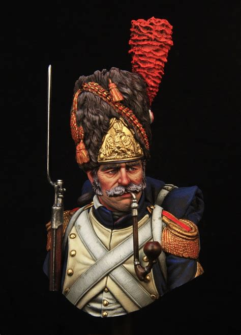 French imperial guard grenadier by Kirill Kanaev · Putty&Paint