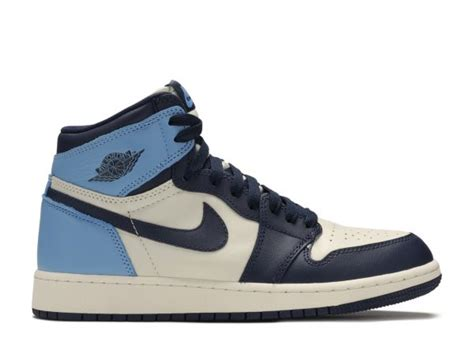 Air Jordan 1 Retro High Obsidian UNC (GS) - kickstw