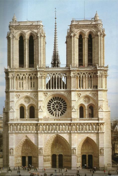 Notre Dame Cathedral, Paris: west facade | The Great