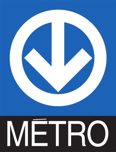 Fichier:Montreal Metro Logo (with text)