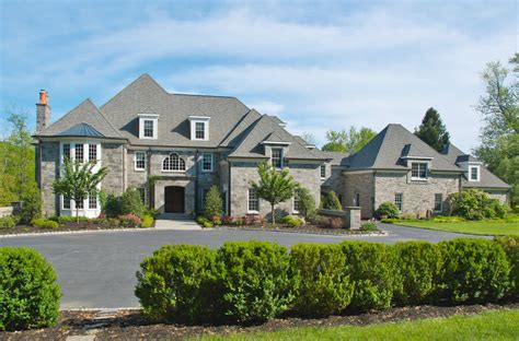 16,500 Square Foot Normandy Style Mansion In Chadds Ford