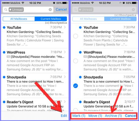 How to Find, Read, and Delete All Unread Emails on iPhone