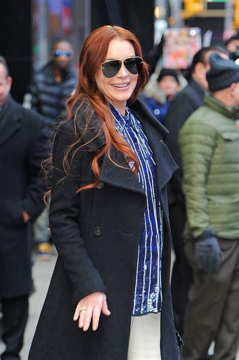 Lindsay Lohan - Out in New York City 01/07/2019