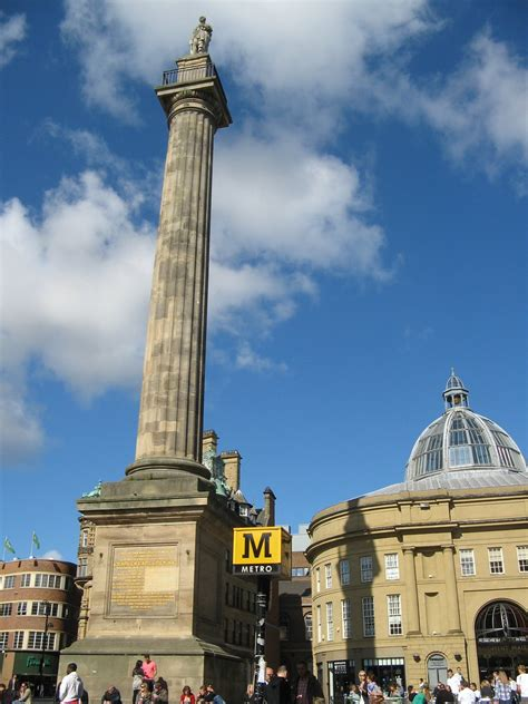 Grey's Monument & Monument Mall, Newcastle City Centre Nor