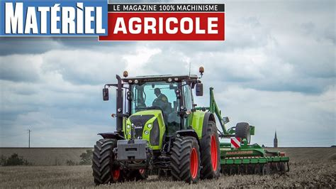 Claas Arion 550 - YouTube