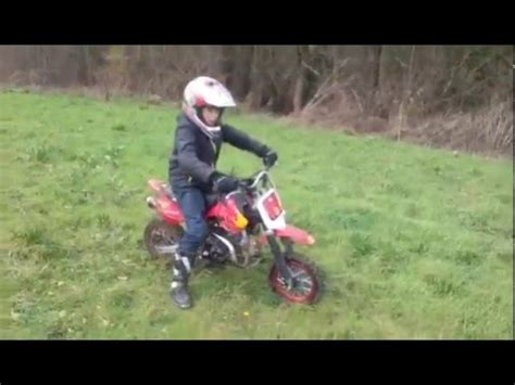 Moto cross ycf 88 - YouTube