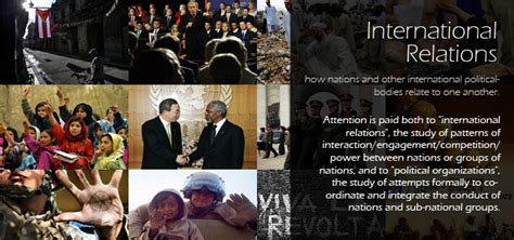 International Relations - Department of Politics