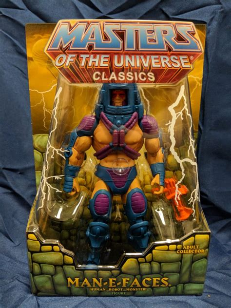 He-Man Masters of the Universe Classics Man-E Faces w