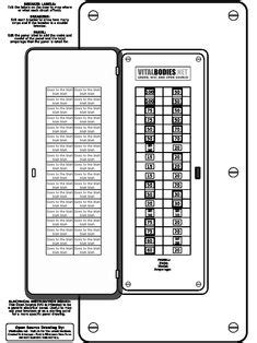 Image result for siemens electrical panel label template