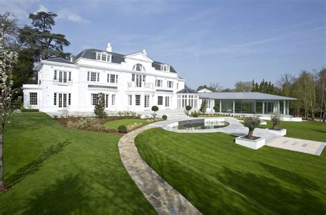 Stately 21,000 Square Foot Newly Built Mansion In Surrey