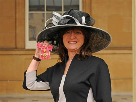 Debbie Wiseman received her OBE at Buckingham Palace