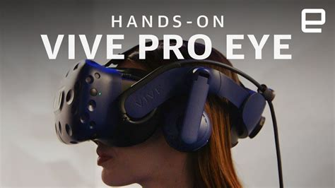 HTC Vive Pro Eye Hands-On: Eye tracking technology in